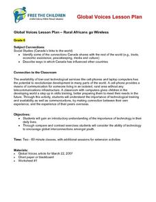Rural Africans go Wireless Lesson Plan