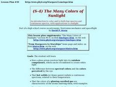 (S-4)  The Many Colors of Sunlight Lesson Plan