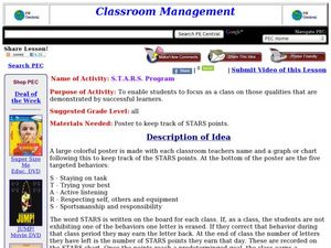 S.T.A.R.S. Program Lesson Plan