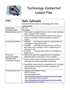 Safe Cyberpals Lesson Plan