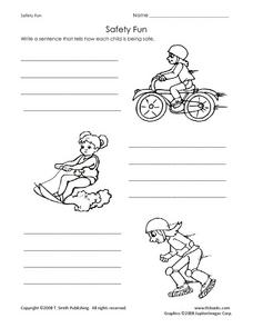 Safety Fun Worksheet