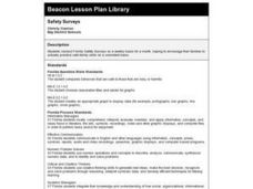 Safety Surveys Lesson Plan