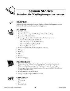 Salmon Stories Lesson Plan