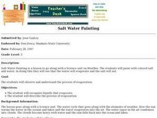 Salt Water Painting Lesson Plan