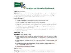 Sampling and Comparing Biodiversity Lesson Plan