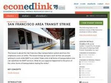 San Francisco Area Transit Strike Lesson Plan