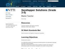 Sandlapper Solutions Lesson Plan