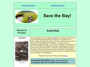Save the Bay Lesson Plan