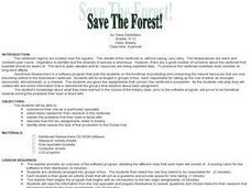 Save The Forest Lesson Plan