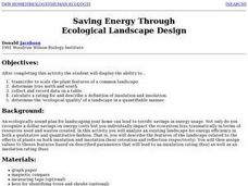 Saving Energy Through Ecological Landscape Design Lesson Plan