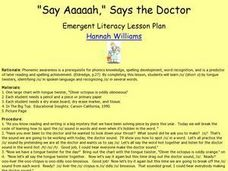 Say Aaaaah, Says the Doctor Lesson Plan