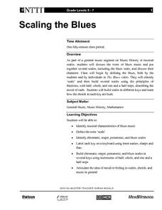 Scaling the Blues Lesson Plan