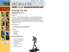 Scaling Up Art Lesson Plan