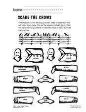 Scare the Crows Worksheet