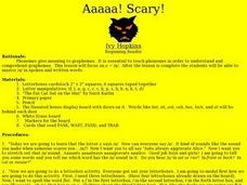 Scary Lesson Plan