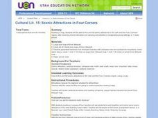 Scenic Attractions in Four Corners Lesson Plan