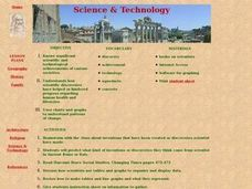 Science and Technology Lesson Plan