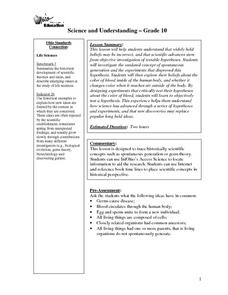 Science and Understanding Lesson Plan