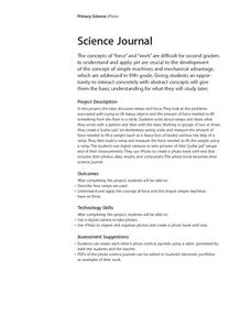Science Journal Lesson Plan