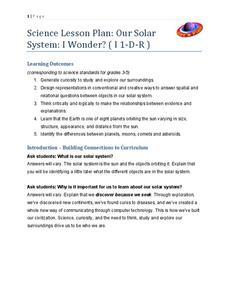 solar system lesson plan - photo #5