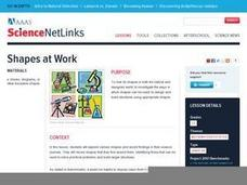 Science NetLinks: Shapes at Work Lesson Plan
