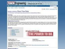 Science: River Flow rate Lesson Plan