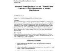 Scientific Investigation of Sea Ice Thickness Lesson Plan