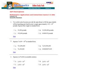 Scientific Notations Worksheet