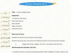 Scooter Shopping Spree Lesson Plan