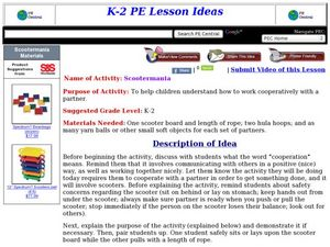 Scootermania Lesson Plan