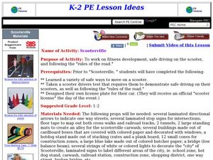 Scooterville Lesson Plan