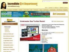 Sea Turtles Underwater Lesson Plan