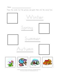 Seasons of the Year Worksheet