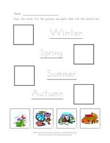 math worksheet : seasons of the year kindergarten worksheet  lesson pla  : Seasons Worksheet Kindergarten