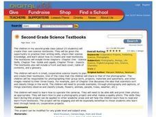 Second Grade Science Textbooks Lesson Plan