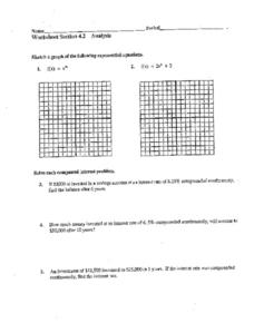 Section 4.2: Exponential Equations Worksheet