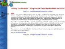 Seeing the Seafloor Using Sound - Multibeam Sidescan Sonar Lesson Plan