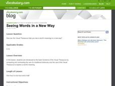 Seeing Words in a New Way Lesson Plan