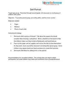 Self-Portrait Lesson Plan