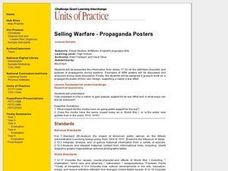 Selling Warfare - Propaganda Posters Lesson Plan