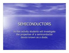 Semiconductors Lesson Plan