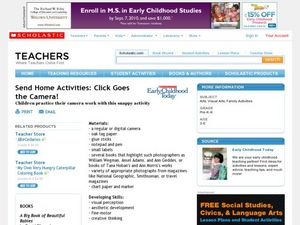 Send Home Activities: Click Goes the Camera! Lesson Plan