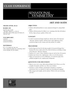 Sensational Symmetry Lesson Plan