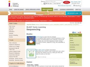 Sequencing Lesson Plan