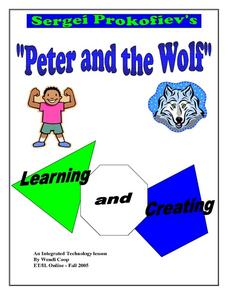 "Sergei Prokofiev's ""Peter and the Wolf"" Lesson Plan"