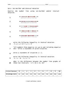 Worksheets On Set Notation - Math Practice, Solved Problems and ...