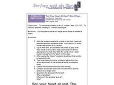 """Set Your Heart At Rest"" Word Plays Lesson Plan"