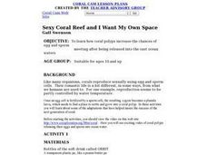 Sexy Coral Reef and I Want My Own Space Lesson Plan