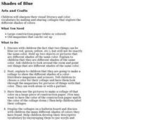 Shades of Blue Lesson Plan