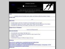 Shadow Games Lesson Plan
